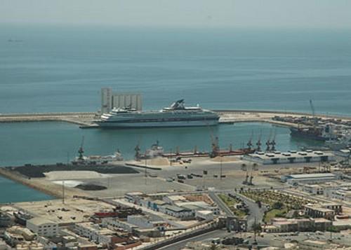 Crucero en puerto de Agadir