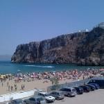 Playa Quemado, la más popular de Al Hoceima