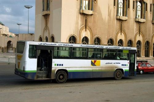 autobuses en Casablanca