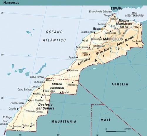 División política de Marruecos