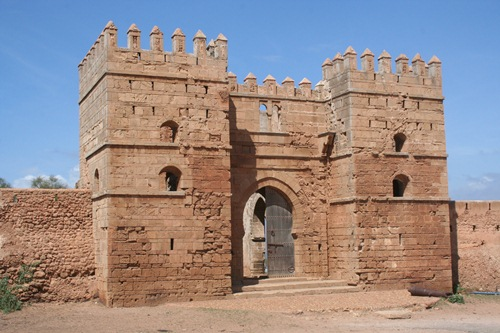 Puerta de la Kasbah Mehdia