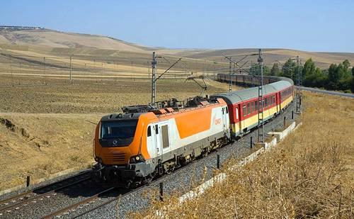 Tren en Marruecos