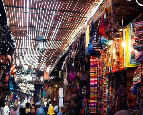 Compras en Marruecos Zoco