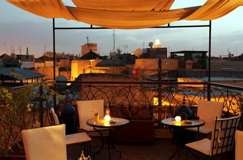 Café Árabe, comer y beber en Marrakech