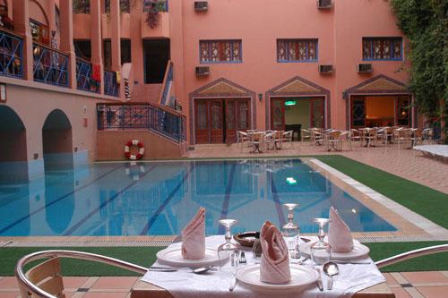 Hotel Oudaya, 3 estrellas en Marrakech y con spa