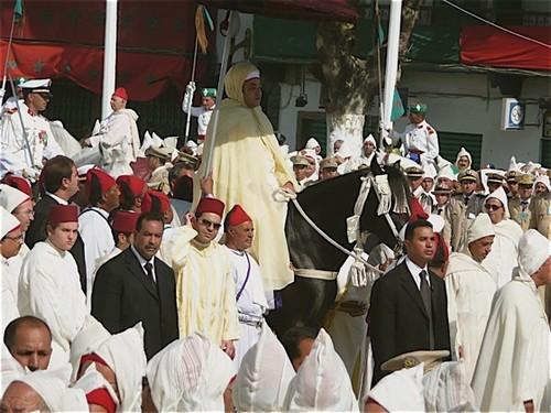 Celebración del Trono, festejo nacional de Marruecos