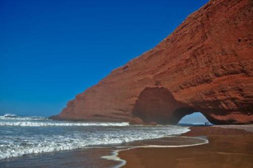 Legzira, la playa de los arcos rojos