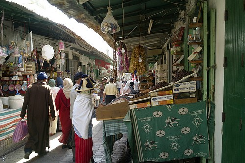 Los mercados de Tetouan