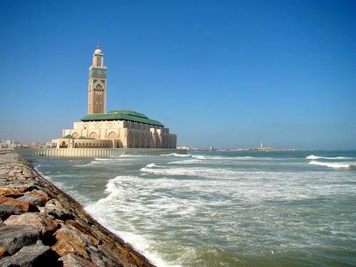 Mezquita Hassan II, en Casablanca