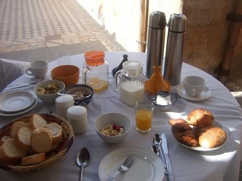 Desayuno marroqui