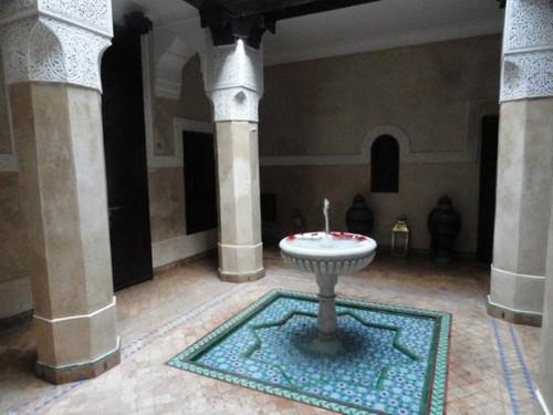 Fuente en Marrakech