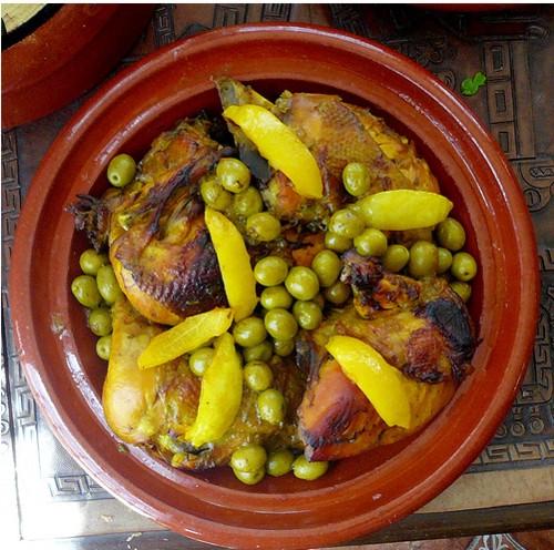 Tajine de pollo
