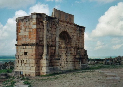 Arco del Triunfo en Volubilis