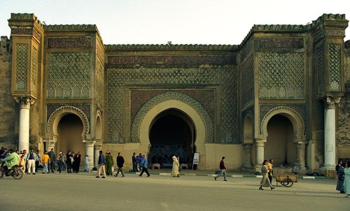 Puerta de Bab Mansour