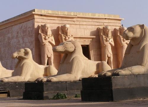 Set de pelicula en Uarzazate