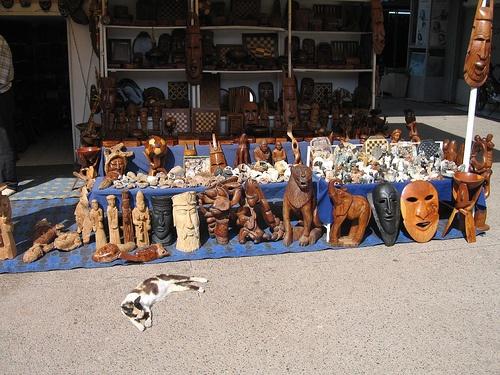 Arte en madera en Marruecos