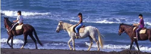 Cabalgata en Marruecos