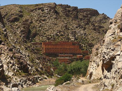 Barraca minera en Aouli