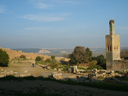 Ciudadela de Chellah, ruinas árabes y romanas