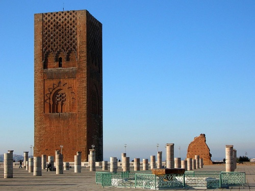 Torre Hassan, el minarete sin mezquita en Rabat