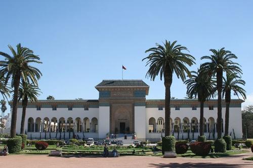Plaza Mohammed V en Casablanca