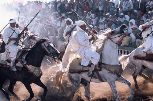 El tradicional festival ecuestre de Tissa