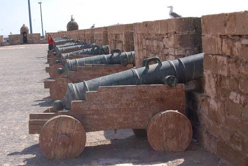 Sqala o Plataforma de artilleria de las murallas de Essaouira