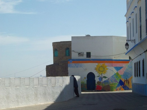 Pinturas en las paredes de Asilah