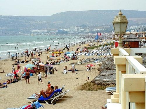 Playas en Agadir