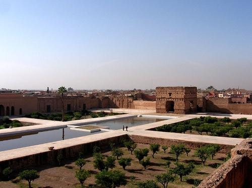 Palacio El Badi en Marruecos