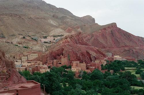 Poblacion en el Valle Dades