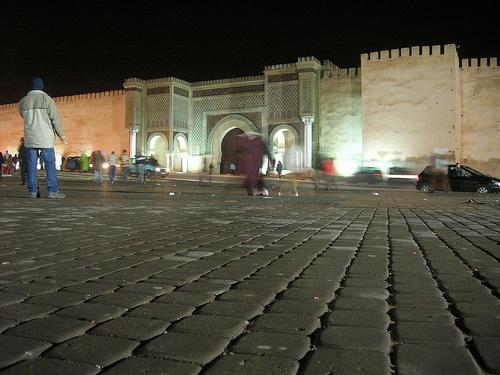 Puerta Bab Monsour en Meknes