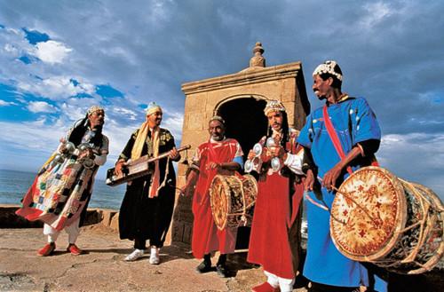 Música gnawa en el Festival de Essaouira