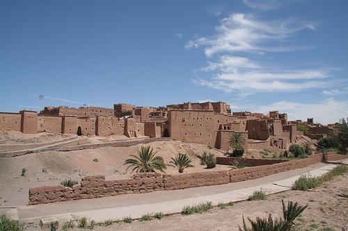 kasbah Taourirt en Uarzazate