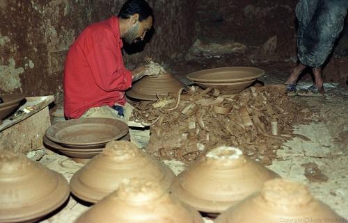Ceramista en Safi