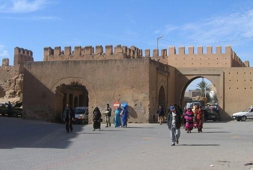 Puerta en las murallas de Turadant