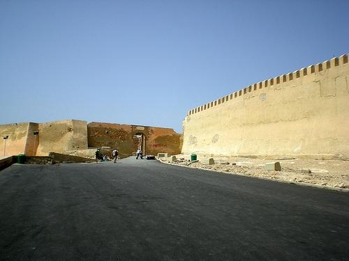 Rampas en la kasbah de Agadir