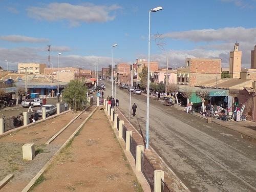 Ain Beni Mathar en Marruecos