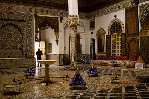 Palacio Mnebhi en Marrakech