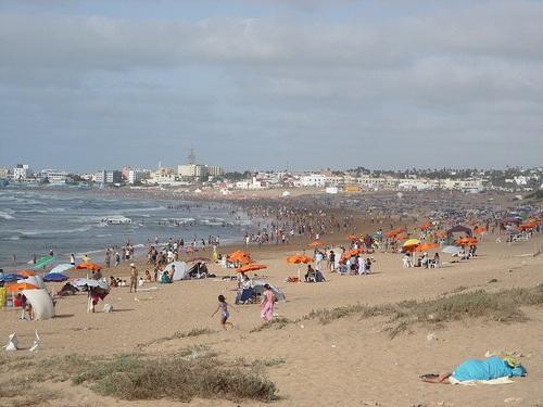 Ain Diab, playas y vida nocturna en Casablanca