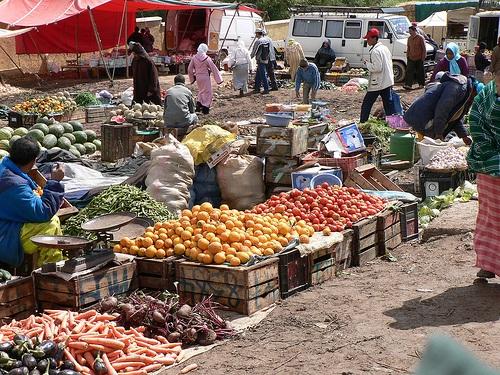 Mercado en Ain Leuh