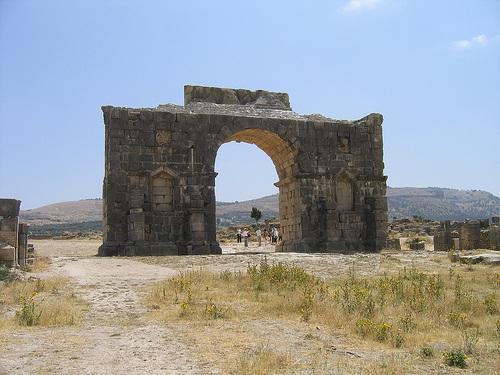 Arco del triunfo de Volubilis