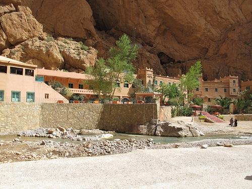 Facilidades en la Gruta Todra