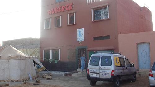 Alojamiento en Akhfenir