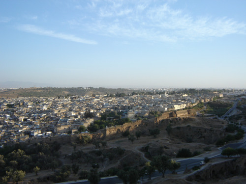 Las tumbas meriníes de Fez