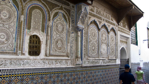 La zauia de Fez, mausoleo de Mulay Idriss II