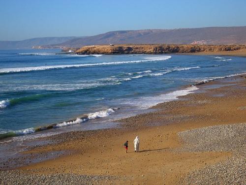 Aourir, para ir de playa y de surfing