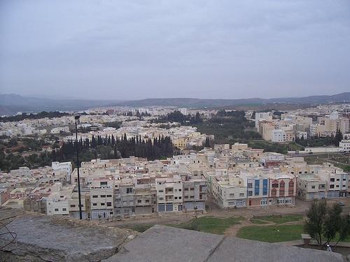 Paisajes en la medina de Taza
