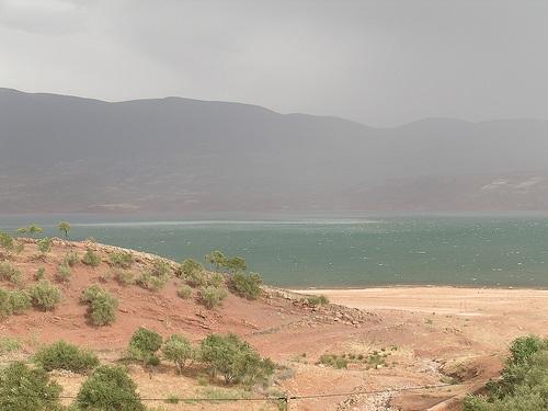 Bin el-Ouidane, inmenso lago artificial