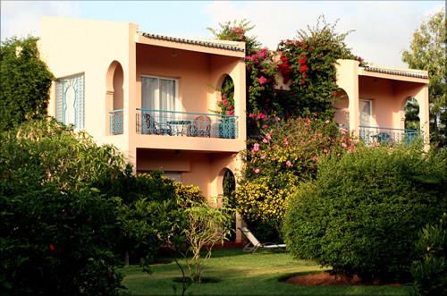 Hotel villa mandarine en rabat for Hotel villa jardin tultitlan